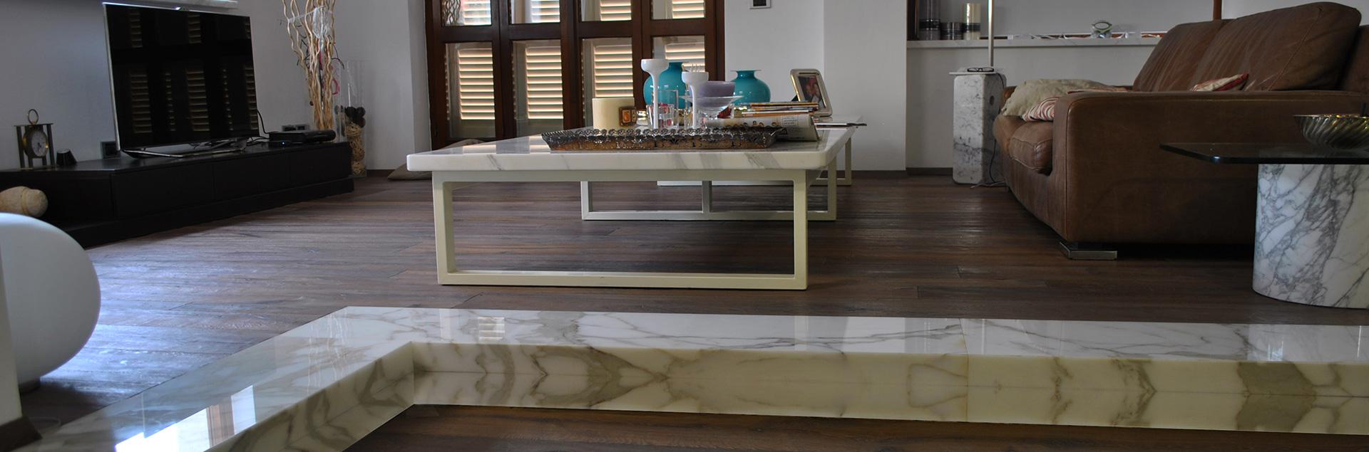 Arredamento in legno e marmo a Carrara