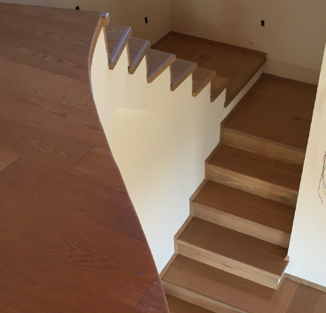 Scale in legno personalizzate a Carrara