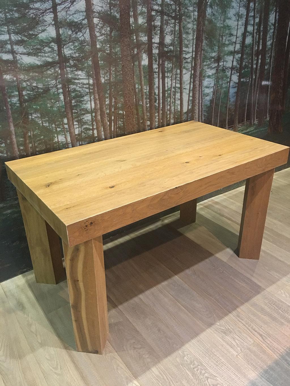 Tavolo in rovere Boschi di Fiemme - Parquet Snc - Otello