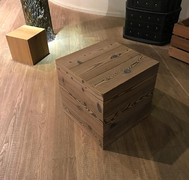 Cubo Realizzata in Legno Otello Design