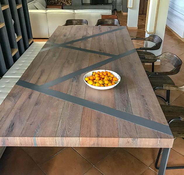 Tavolo in Legno Otello Design